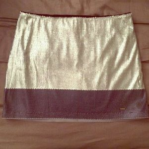NWT Hollister Sequin Mini Skirt size 7